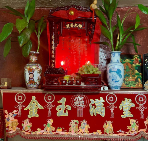 Qing Ming Altar, Grand Tea & Imports, Chinese Culture