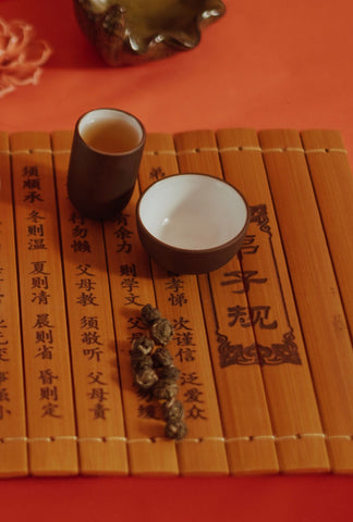 Dragon Pearl Jasmine Tea (龍珠茉莉花茶)