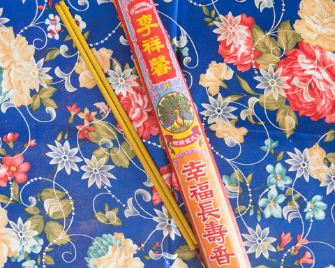 Happiness and Longevity Thick Incense Bunch