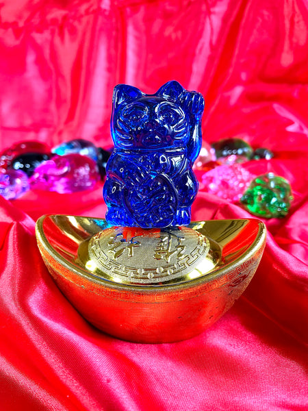 Crystal Fortune Cat