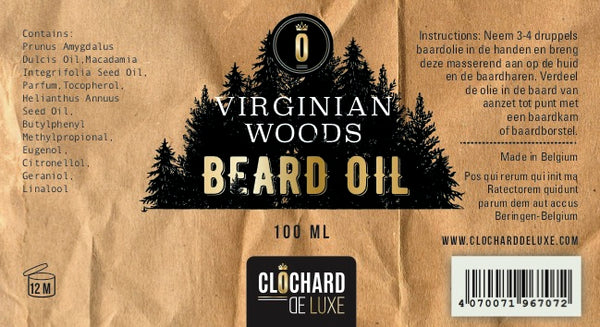 Beard Oil - Virginian Woods
