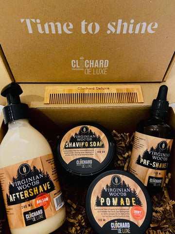 Giftbox Shave & Shine - Virginian Woods