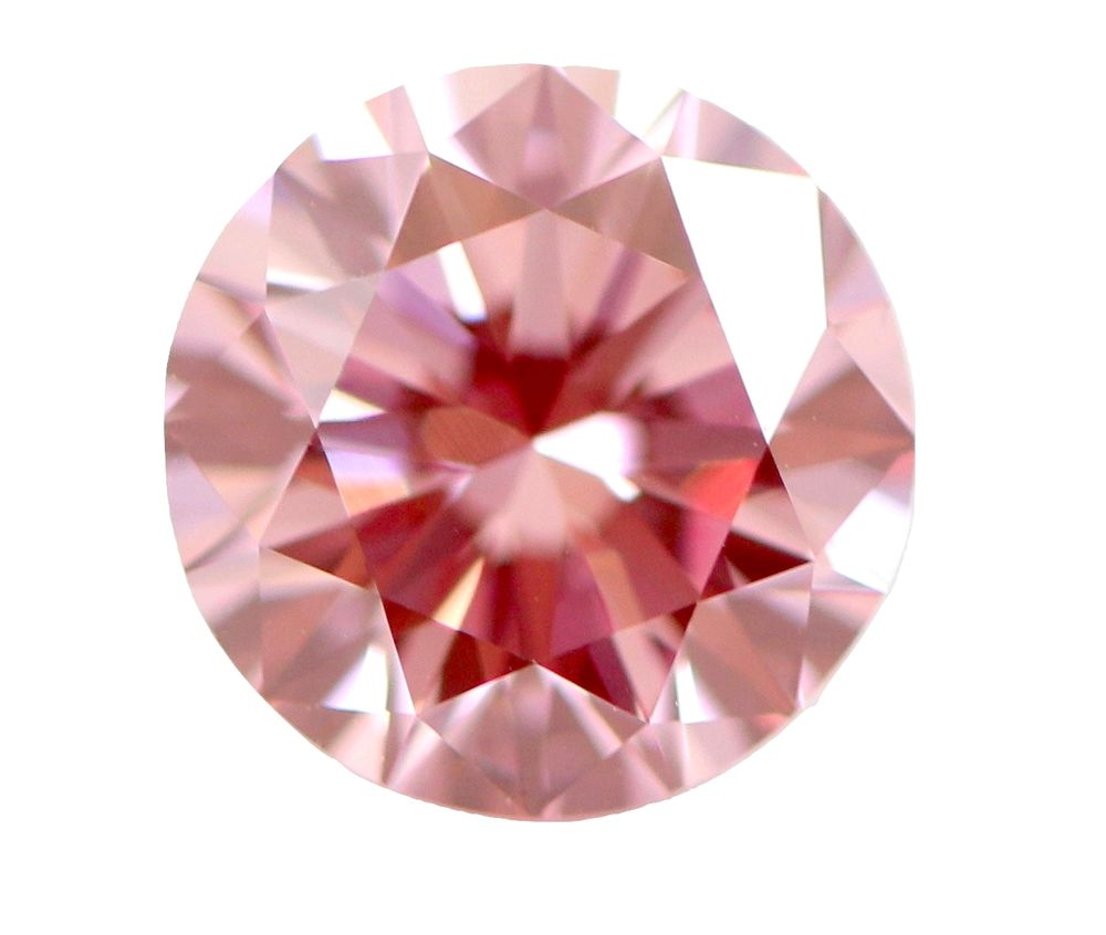 1.50 CT Loose Natural Diamond Fancy Intense Pink Round Brilliant Cut GIA Certified