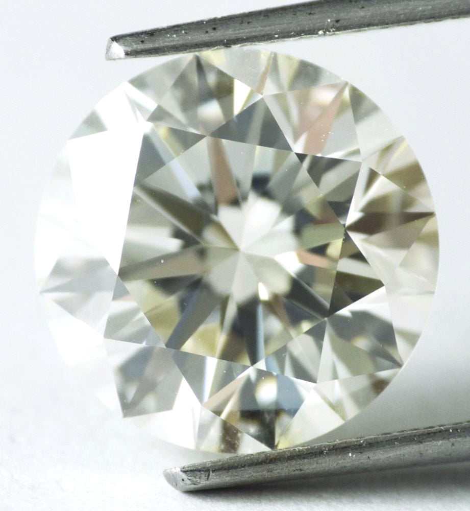 5.81 CT Loose 100% Natural Diamond M IF Round Brilliant Cut GIA Certified