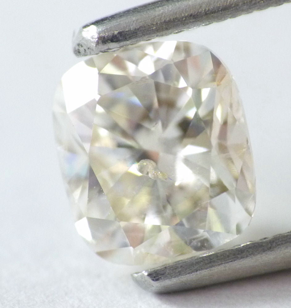 0.91 CT Loose Natural Diamond H SI1 Cushion Brilliant Cut IGL Certified !
