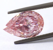 Load image into Gallery viewer, 2.04 CT Loose Natural Diamond Fancy Intense PinK VVS2 Pear Cut GIA Certified WOW