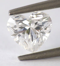Load image into Gallery viewer, 1.00 CT Loose Natural Diamond D Flawless Heart Brilliant Cut GIA Certified