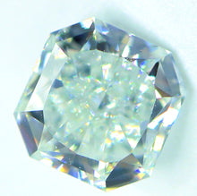 Load image into Gallery viewer, 0.61 CT Loose 100% Natural Diamond Fancy Light Bluish Green VS1 Radiant Cut GIA Certified