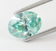 Load image into Gallery viewer, 1.27 CT Loose Natural Diamond Fancy Vivid Blue Green VS1 Oval Brilliant IGI Certified