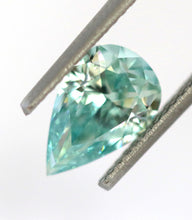 Load image into Gallery viewer, 1.63 CT Loose Natural Diamond Fancy Vivid Bluish Green VVS2 Pear Cut GIA Certified