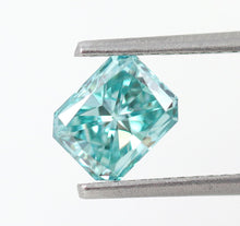 Load image into Gallery viewer, 1.00 CT Loose Natural Diamond Fancy vivid Blue Radiant Cut VS1 IGL Certified