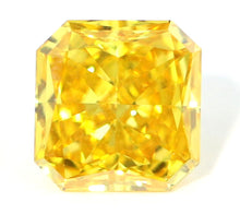 Load image into Gallery viewer, 1.31 CT Loose Natural Diamond Fancy Orangy Yellow VS2 Radiant Cut GIA Certified