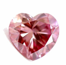 Load image into Gallery viewer, 1.14 ct Fancy Deep Pink loose natural diamond Heart Shape GIA certified THE TRUE LOVE DIAMOND