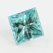 Load image into Gallery viewer, 1.00 CT Loose Natural Diamond Fancy vivid Blue VS1 Princess Cut Certified Square