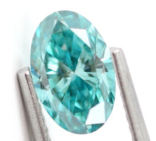 Load image into Gallery viewer, 1.12 CT Loose Natural Diamond Fancy vivid Blue VS1 Oval Cut Brilliant Certified