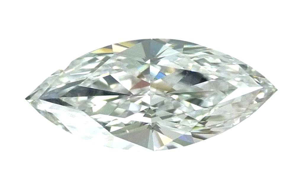 1.08 carat Loose Natural Diamond F VVS1 Marquise Cut GIA Certified EX Model