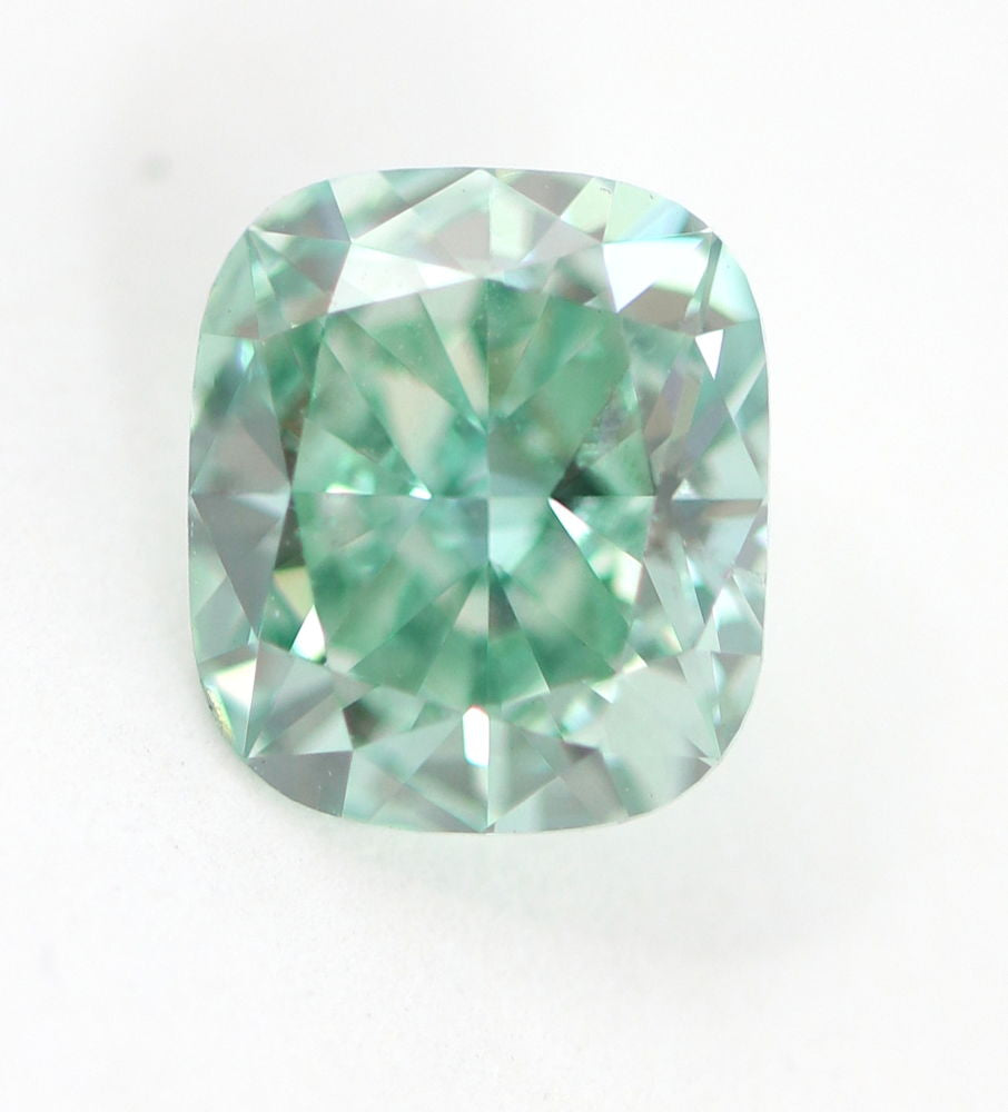 1.80 carat Loose Natural Diamond Fancy vivid Green Blue VS2 Certfiied Amazing
