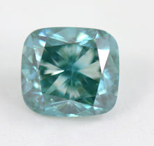 Load image into Gallery viewer, 2.08 CT Loose Natrual Diamond Fancy vivid Blue Cuhsion Cut IGI Certified RARE