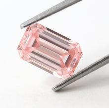 Load image into Gallery viewer, 1.81 CT Loose Natural Diamond Fancy Intense Pink FLAWLESS Emerald Cut GIA Certified