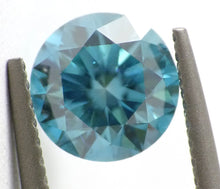 Load image into Gallery viewer, 1.03 CT Loose Natural Diamond Fancy Vivid Blue VS1 Round Brilliant AIG Certified