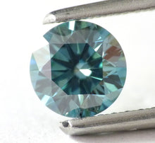 Load image into Gallery viewer, 1.03 CT Loose Natural Diamond Fancy Vivid Blue VS2 Round Brilliant AIG Certified