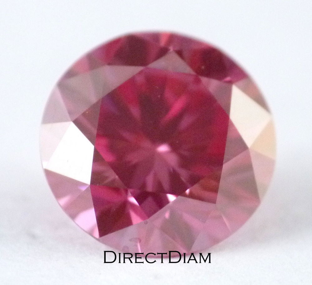 Loose Natural Pink Diamond VS2 GIA certified 1.17 ct Round Shape Deep Color RARE !!!