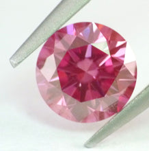 Load image into Gallery viewer, Loose Natural Pink Diamond VS2 GIA certified 1.17 ct Round Shape Deep Color RARE !!!