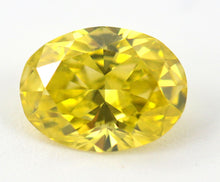 Load image into Gallery viewer, 1.01 CT Loose Natural Diamond Fancy vivid Yellow Oval Cut VVS2 GIA Certified