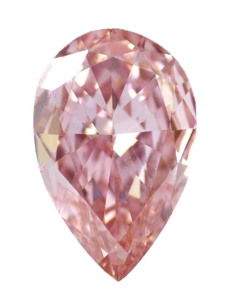 2.04 CT Loose Natural Diamond Fancy Intense PinK VVS2 Pear Cut GIA Certified WOW