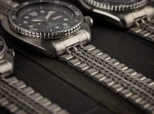 "Load image into Gallery viewer, ""RAZOR-WIRE"" BRACELET FOR 6309, SRP77x, and SKX007"