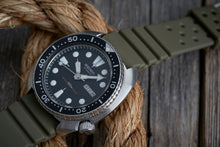 Load image into Gallery viewer, The Classic GL831 Rubber Strap in OD Green (19/20/22mm)