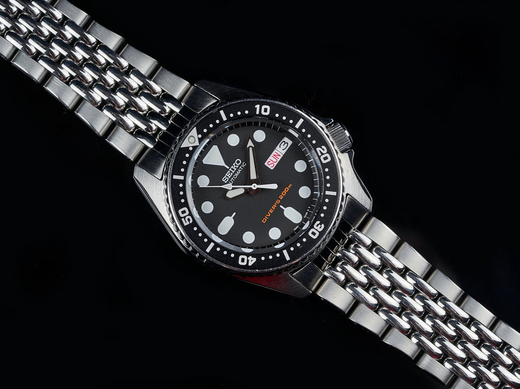 Beads of Rice Bracelet for the SKX013 Mid-sized Diver