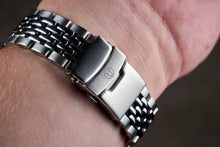 "Load image into Gallery viewer, Beads of Rice Bracelet for Omega Speedmaster ""Moon Watch"" (20mm)"