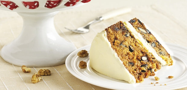 Perfectly Moist Carrot Cake with Apricots