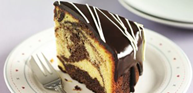 The Triple Chocolate Marble Cake