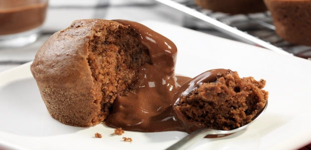 Lower Fat Chocolate Muffins