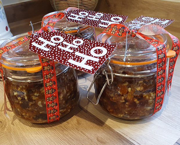 Boozy and flavourful Mincemeat in a Jar