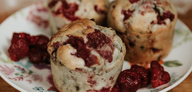 Light Red Berries Muffins