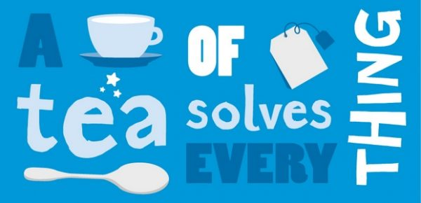 A cup of tea solves every thing