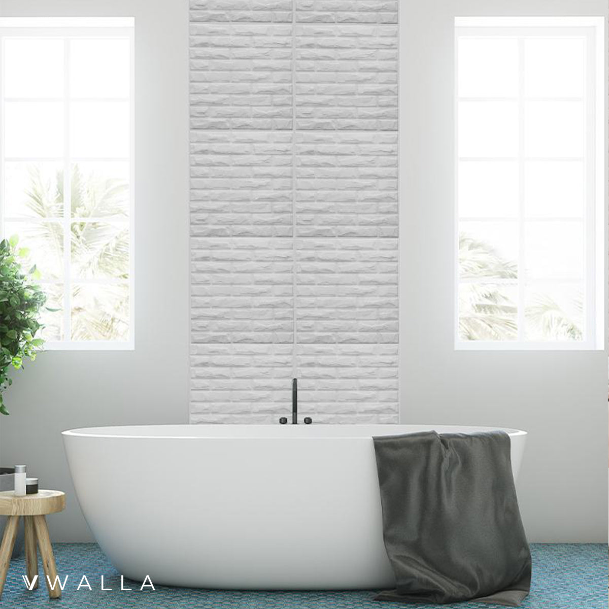 3D Wall Panel - Bricks