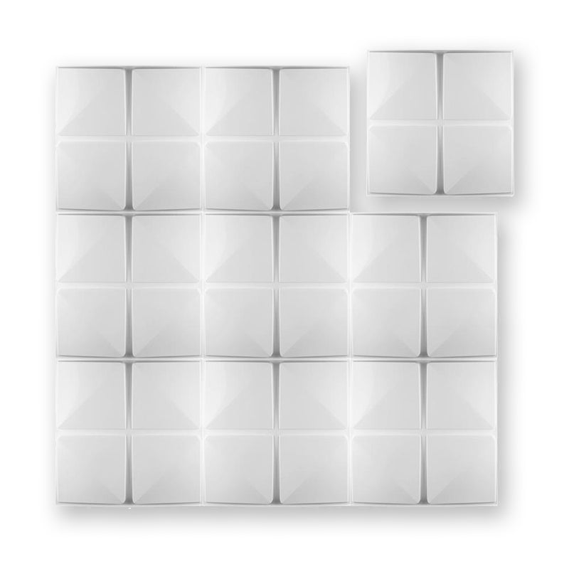 3D Wall Panel - Cubic