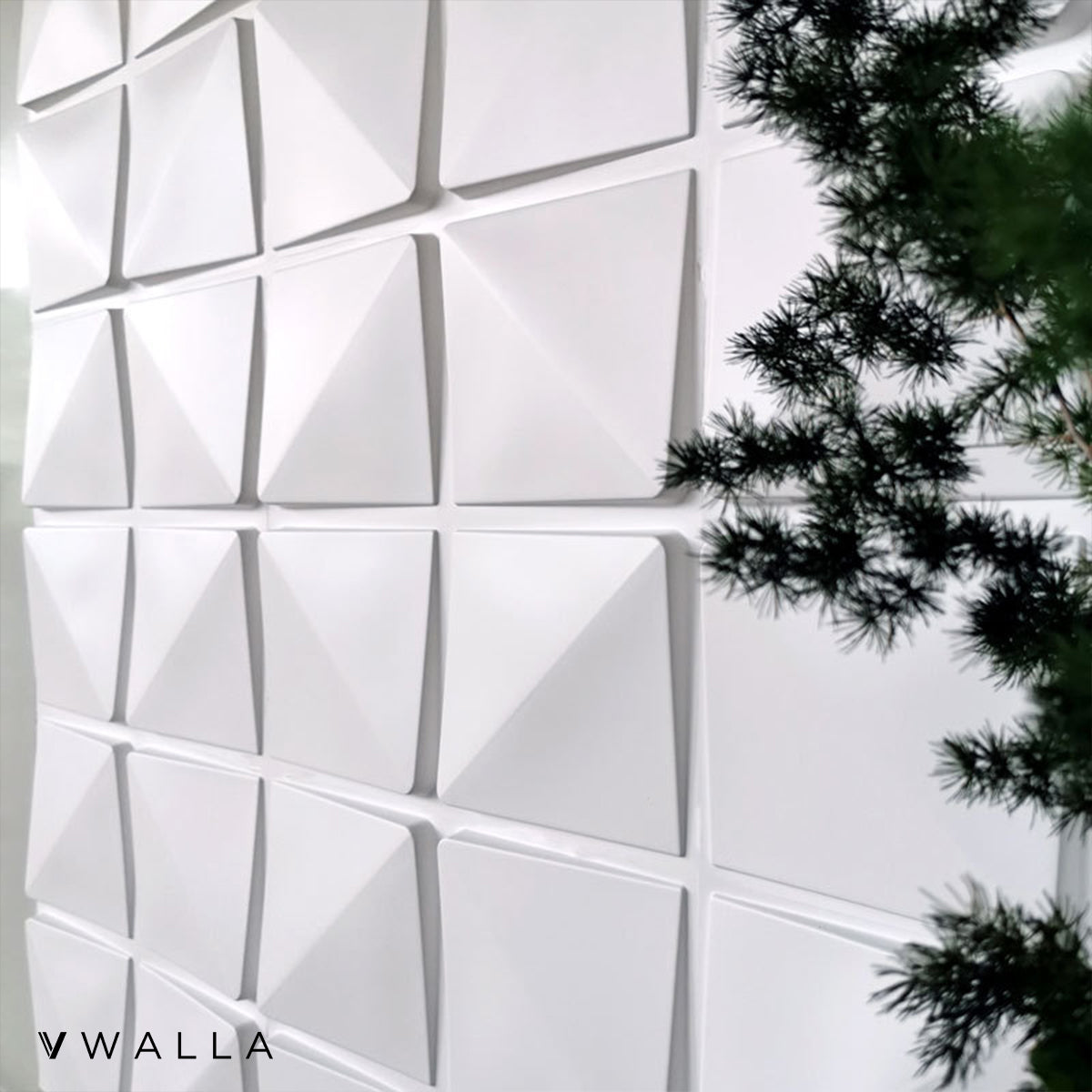 3D Wall Panels - Cubic