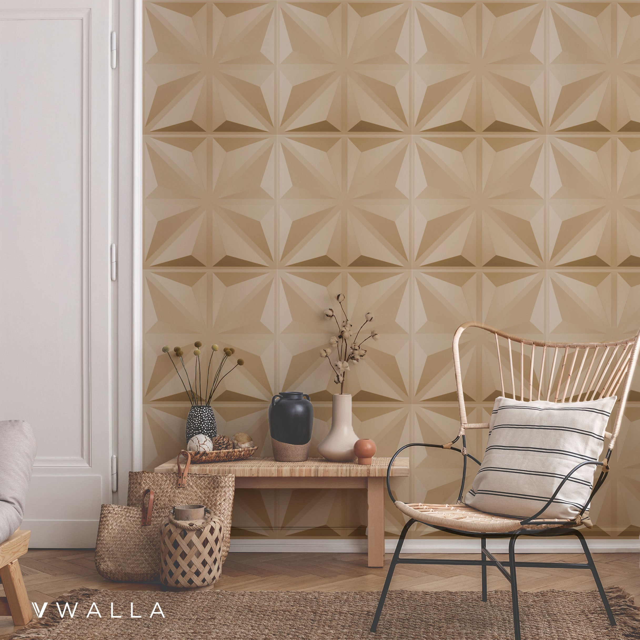 3D Wall Panel - Isosceles