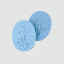 Load image into Gallery viewer, Venus Intaglio Soap Set- Wedgewood Blue