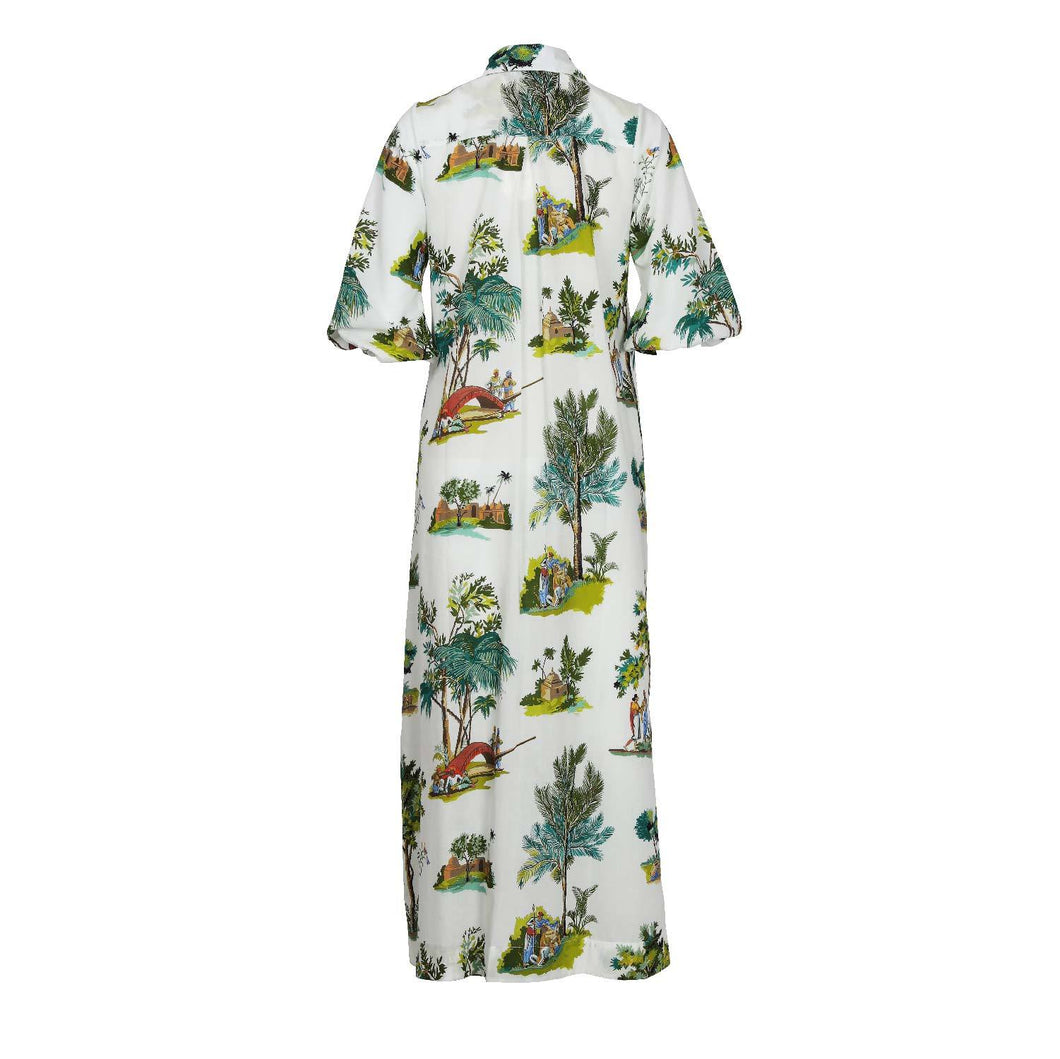 Jaipur Toile Shirt Dress