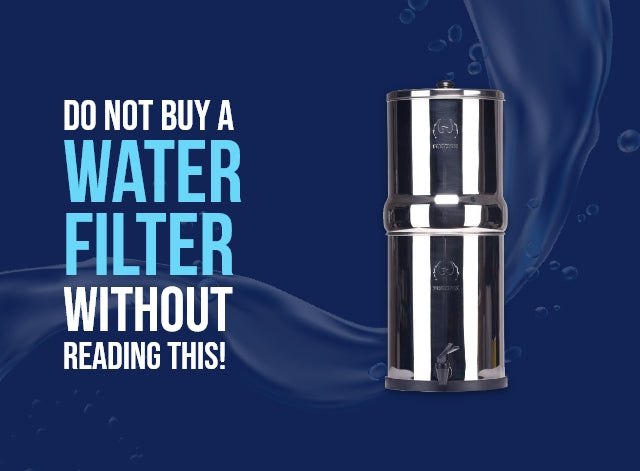 Do Not Buy A Water Filter Without Reading This!