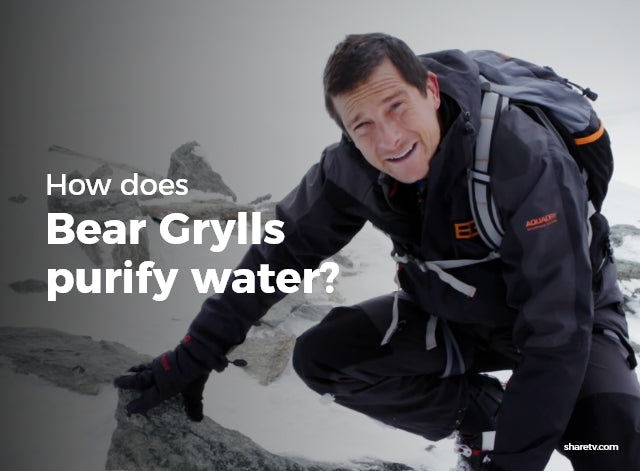 How Does Bear Grylls Purify Water?