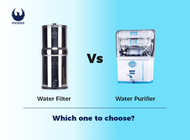 Water Filter vs Water Purifier