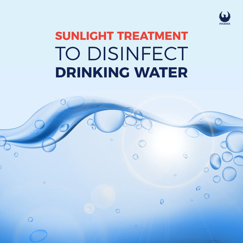 Sunlight Treatment to Disinfect Drinking Water