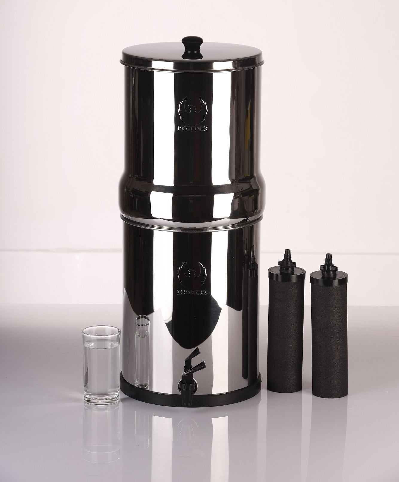 Phoenix Gravity Stainless Steel Water Filter and Purifier